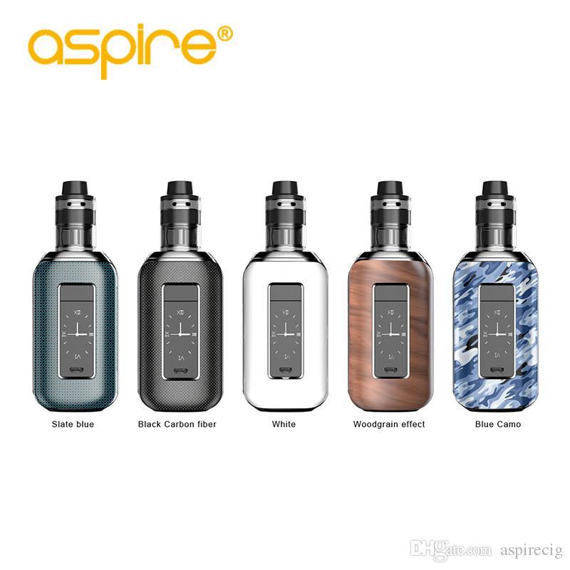 Aspire SkyStar Revvo Kit Tanque Revvo de 3.6ml / 2.0ml e tela sensível ao toque TC 210W vape mod dual 18650 100% Original
