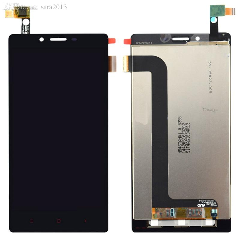 Wholesale-Xiaomi Redmi note lcd Display touch screen Tools 100% Original  Hongmi Note 4G WCDMA Accessory For Red Rice Mobile Phone