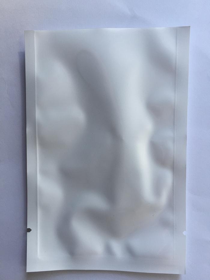 الشحن مجانا 16 * 24 سنتيمتر 100 قطع واضح + الأبيض الأعلى افتتح حرارة ختم جيب عادي لؤلؤة لؤلؤة فيلم مجمع حقيبة بلاستيكية الحقيبة الرطوبة برهان
