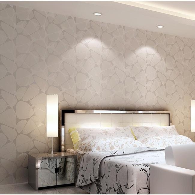 Acquista Unico Bianco Glitter Geometria Triangolo Sfondi Textiled ...