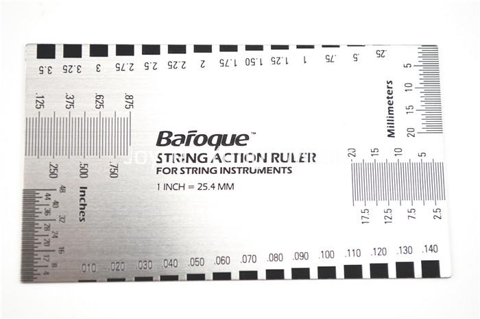 2019 acoustic guitar electric guitar bass string action ruler gauge guide measuring guitar. Black Bedroom Furniture Sets. Home Design Ideas