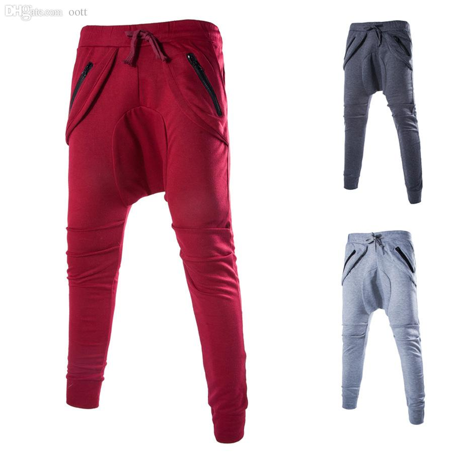 8e622d3af98 Wholesale-New Mens Casual Jogger Dance Sportwear Baggy Harem Pants ...