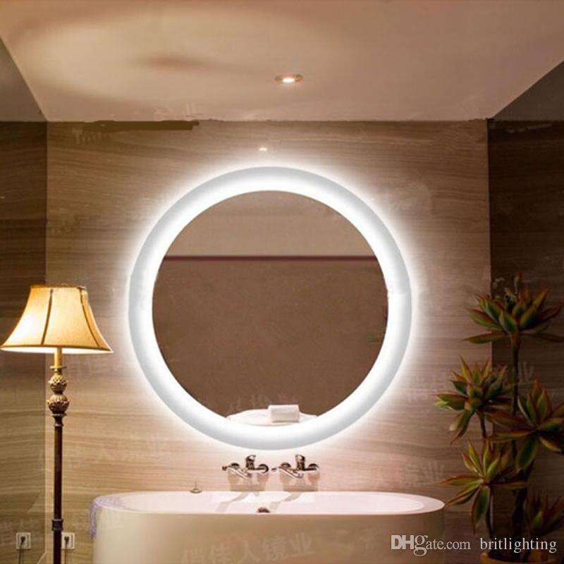 Großhandel Anti Nebel Spiegel Lampe Badezimmer Spiegel Runden LED ...