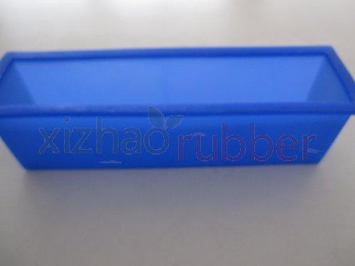 Xz-1A073 SGS gecertificeerde vierkante vorm populaire herbruikbare cakevorm voedsel kwaliteit siliconen zeep schimmel cakevorm