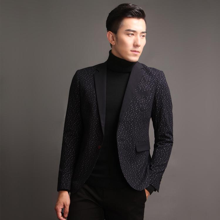 2017 Mens Casual Dress Slim Fit Stylish Suit Blazer Coats Jackets ...