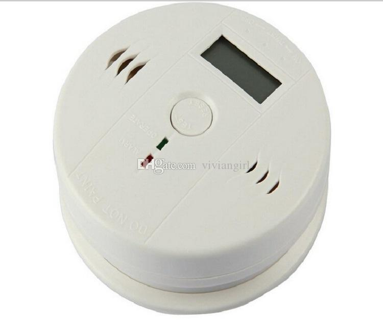 New Arrival CO Carbon Monoxide Poisoning Smoke Gas Sensor Warning Alarm Detector Tester LCD Security Sensor