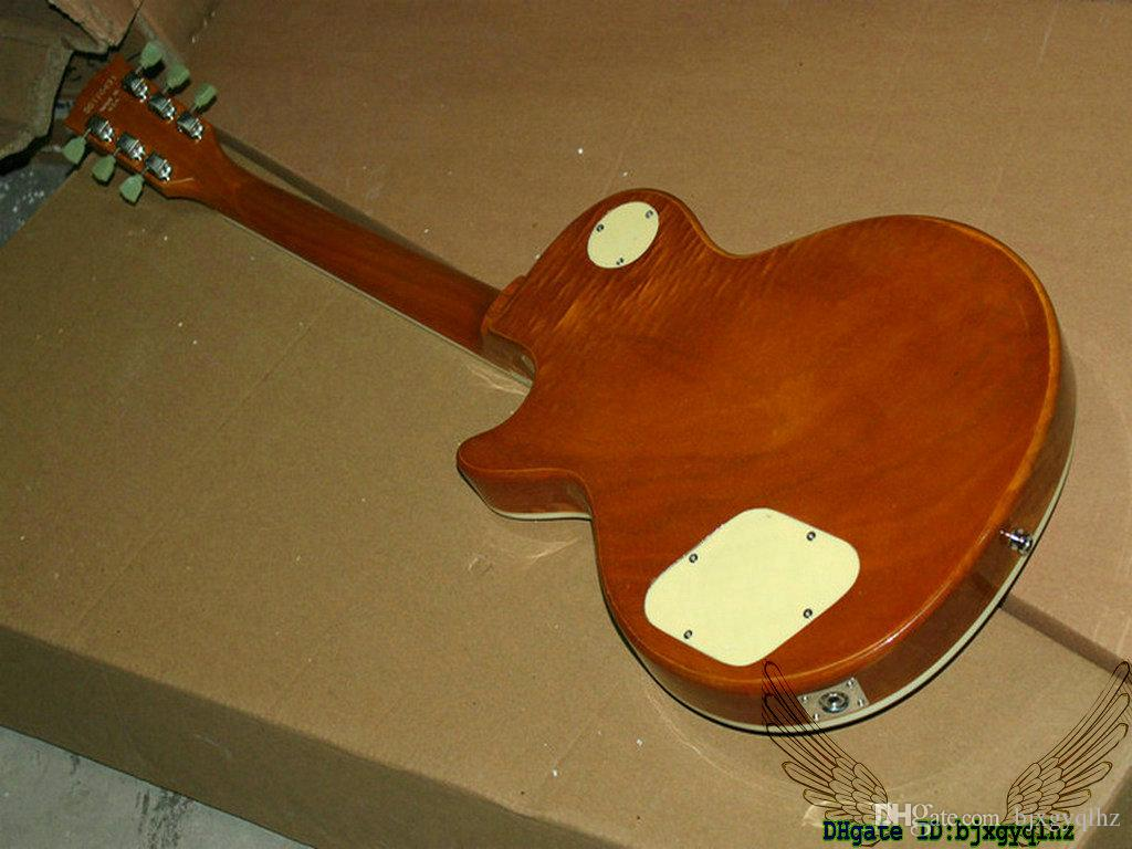 High Quality Goldtop Electric Guitar P90 Mahogany Body OEM Best Musical instruments