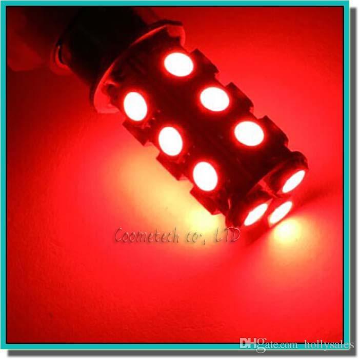 Alta qualità 1156 382 BA15S p21w 1157 BAY15D p21 / 5w bay15d PY21W lampadina a led 18 smd 5050 Coda freno freno Indicatore di direzione Lampadina 12V