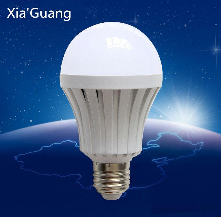 Светодиодные лампы B22 E27 Глобус лампа 110 В / 220 В 7 Вт 9 Вт 12 Вт супер яркий CREE светодиодные лампы Оптовая бесплатная доставка