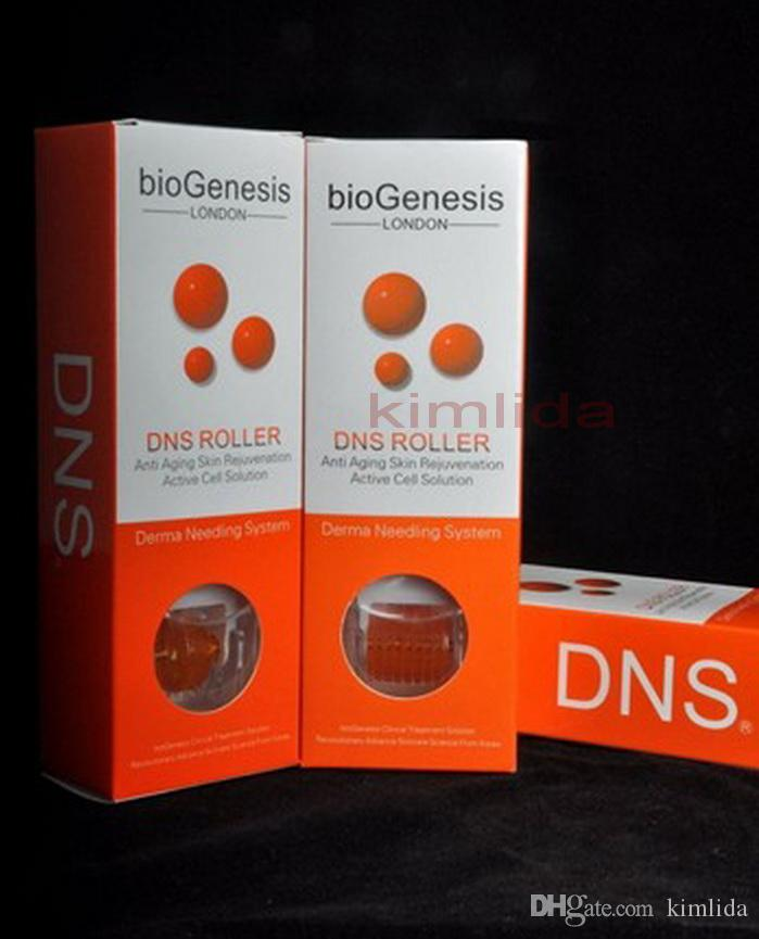 DNS titanium biogenesis Microneedle Derma Roller 200 needles DNS Derma Rolling System For Skin Care Various Size