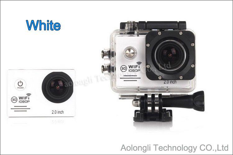 SJ7000 Водонепроницаемая камера действия WiFi + зарядное устройство + кронштейн + автомобильное зарядное устройство 1080P Full HD Спортивная камера Дайвинг Видео Шлем Видеокамера Автомобильный видеорегистратор