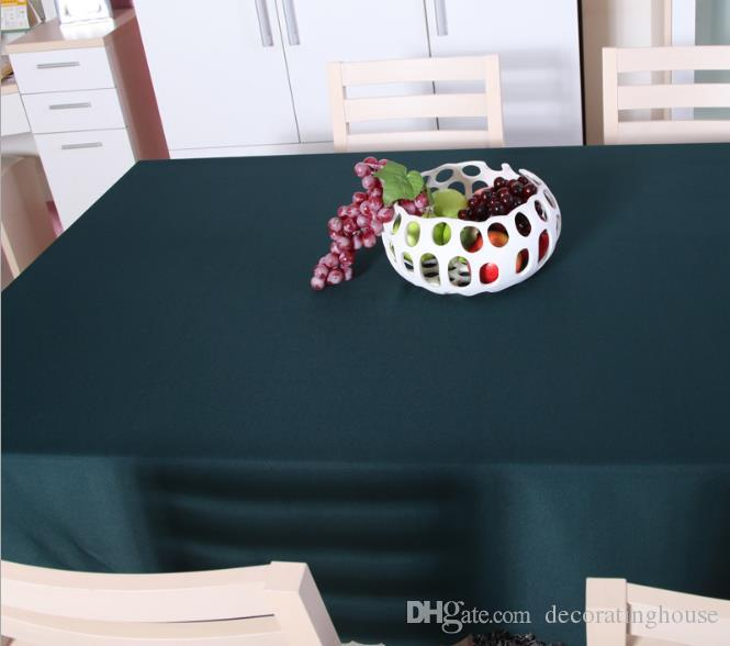 Custom Table Conference Tablecloth Tablecloth Dark Green Hotel Restaurant Tablecloths  Tablecloths Taiwan Skirts Advertising Table Cloth Desk Polyester ...