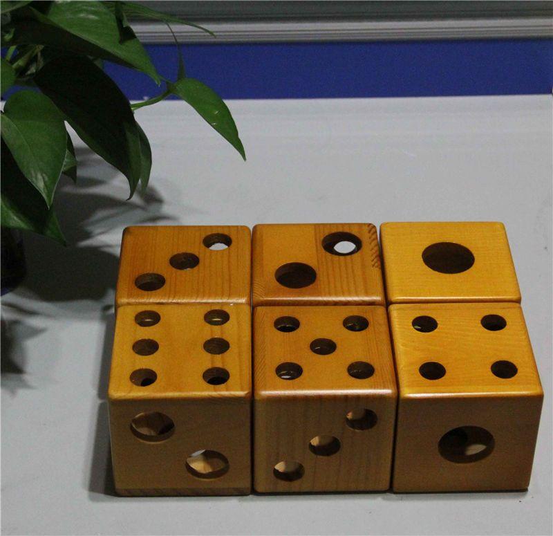E cig vape display racks wooden dice style stands showcase wood shelf holder for ego evod vision battery 18650 26650 mechanical mod atomizer