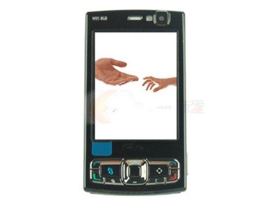 5MP Slider unlocked phone Camera sim card 2.8 inch memory 8GB N95 cell phone smart phone with WIFI GPS Bluetooth
