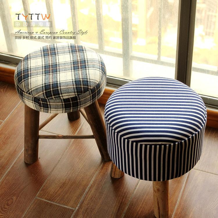 Wonderful Simple Wood Stool Ottoman Fabric Dressing Makeup Small Stool Soft Stool  Stylish Simplicity Small Chair Stool Online With $113.62/Piece On  Zhoudan5245u0027s ...