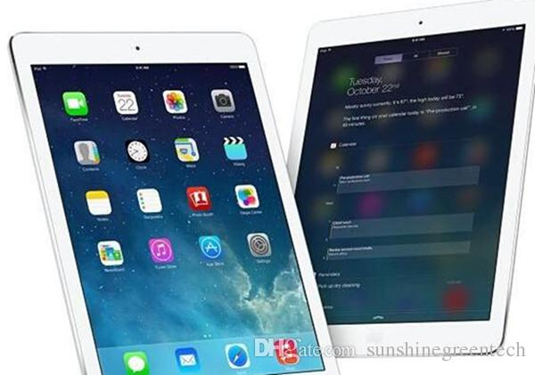 "Refurbished iPad Air Authentic Apple iPad 5 Grade A Tablets 16GB 32GB 64GB Wifi iPad5 9.7"" Retina Display IOS A7 DHL"