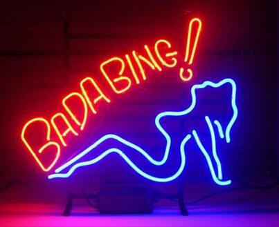 Bada Bing 2018 bada bing lady neon sign handcrafted custom real glass tuble
