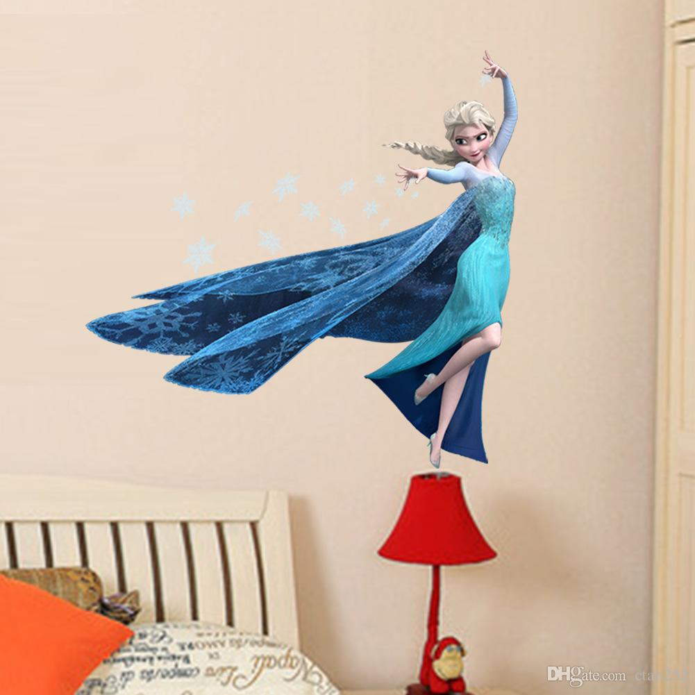 Christmas pvc cartoon elsa frozen 3d wall sticker wall poster for christmas pvc cartoon elsa frozen 3d wall sticker wall poster for kids roomsfrozen stickers removable wall sticker bedroom livingroom modern wall decals amipublicfo Gallery