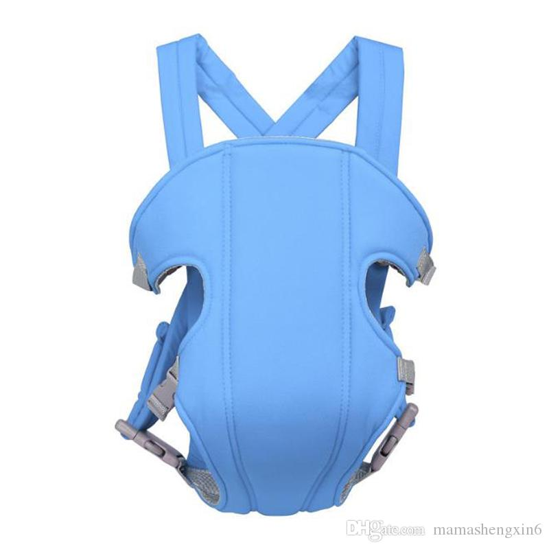 Front Back Baby Infant Carrier Backpack Sling Newborn Pouch Wrap Multi-functional Toddler Breathable Baby Carrier Backpack Suspenders Slings