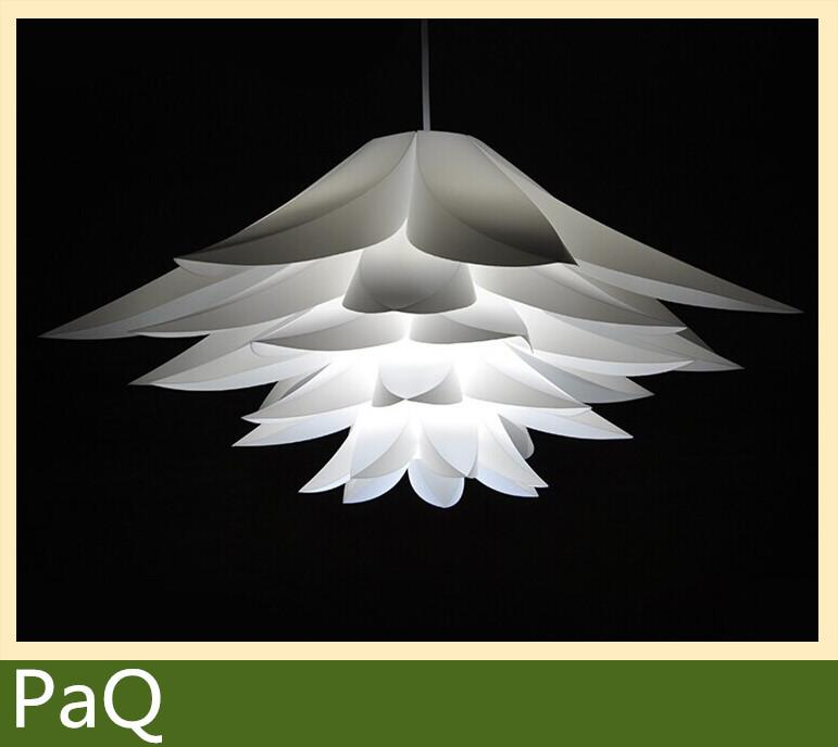Flowers lamp pendant light pvc diameter 58cm lotus shape diy flowers lamp pendant light pvc diameter 58cm lotus shape diy lampshade bedroomshops led droplight hanging light fixture a3 lamp post light light mushroom aloadofball Gallery