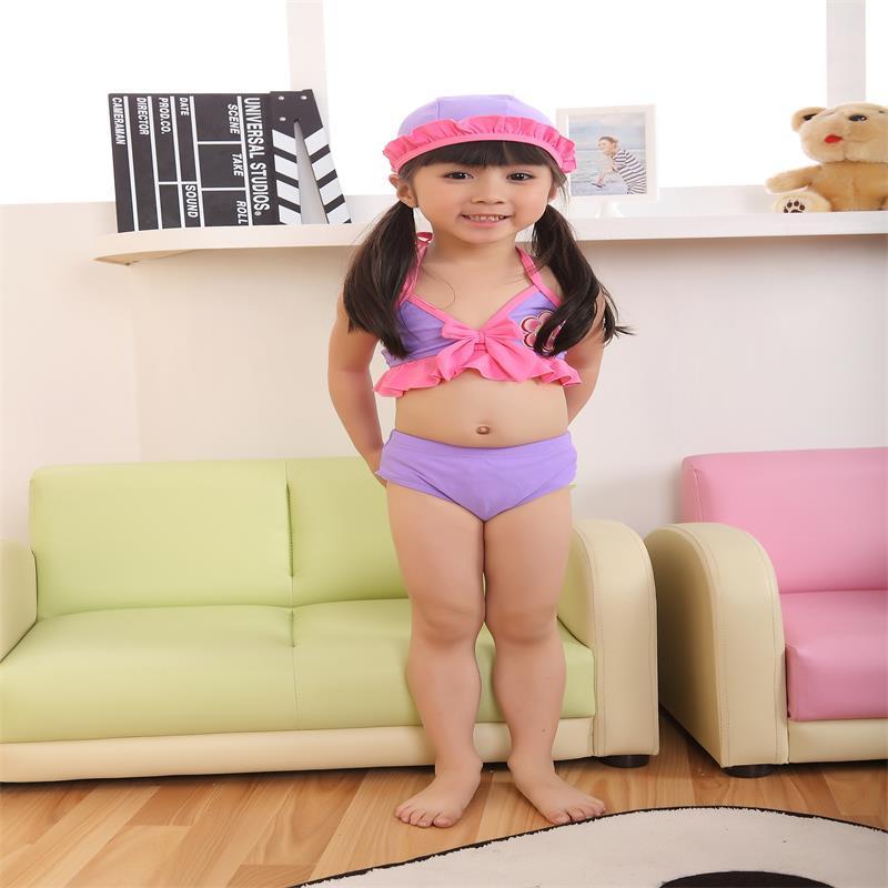 f5e7862b5 Sexy Baby Girl s Bikini Swimwear Manufacturer Beautiful Purple Baby Sun  Flower Girl s Lace Swimming Wear Clothing Kid Beachwear Baby Swimwear Child  Pikini ...