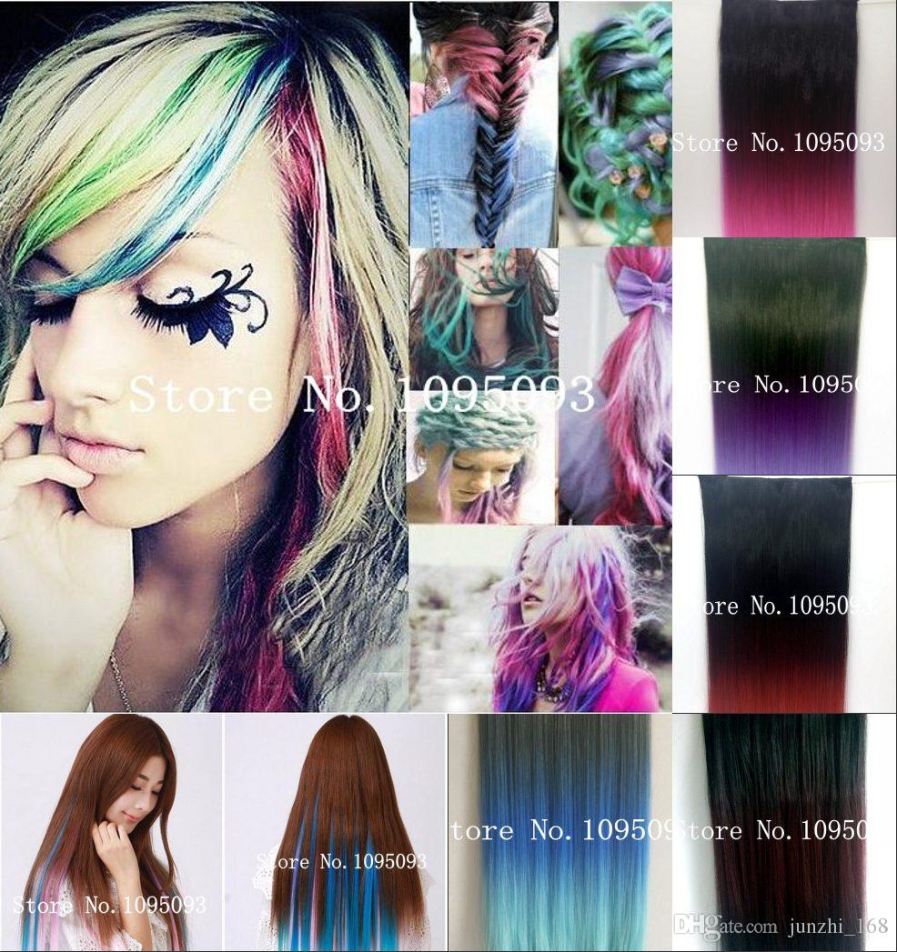 Blonde multi colored hair choice image hair coloring ideas hot ombre hair extensions gradient style ladies gorgeous long ombre hair extensions gradient style ladies gorgeous pmusecretfo Images