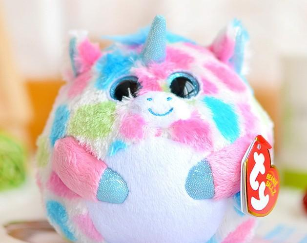 Beanie Boo TY Ball Animal Plush Toy Doll with Big Eyes Unicorn BOOS Ball  Diameter 12CM 4.72 Toys Gift for Children ABC100 Gifts Budget Doll Corset  Doll ... e26724f88b3