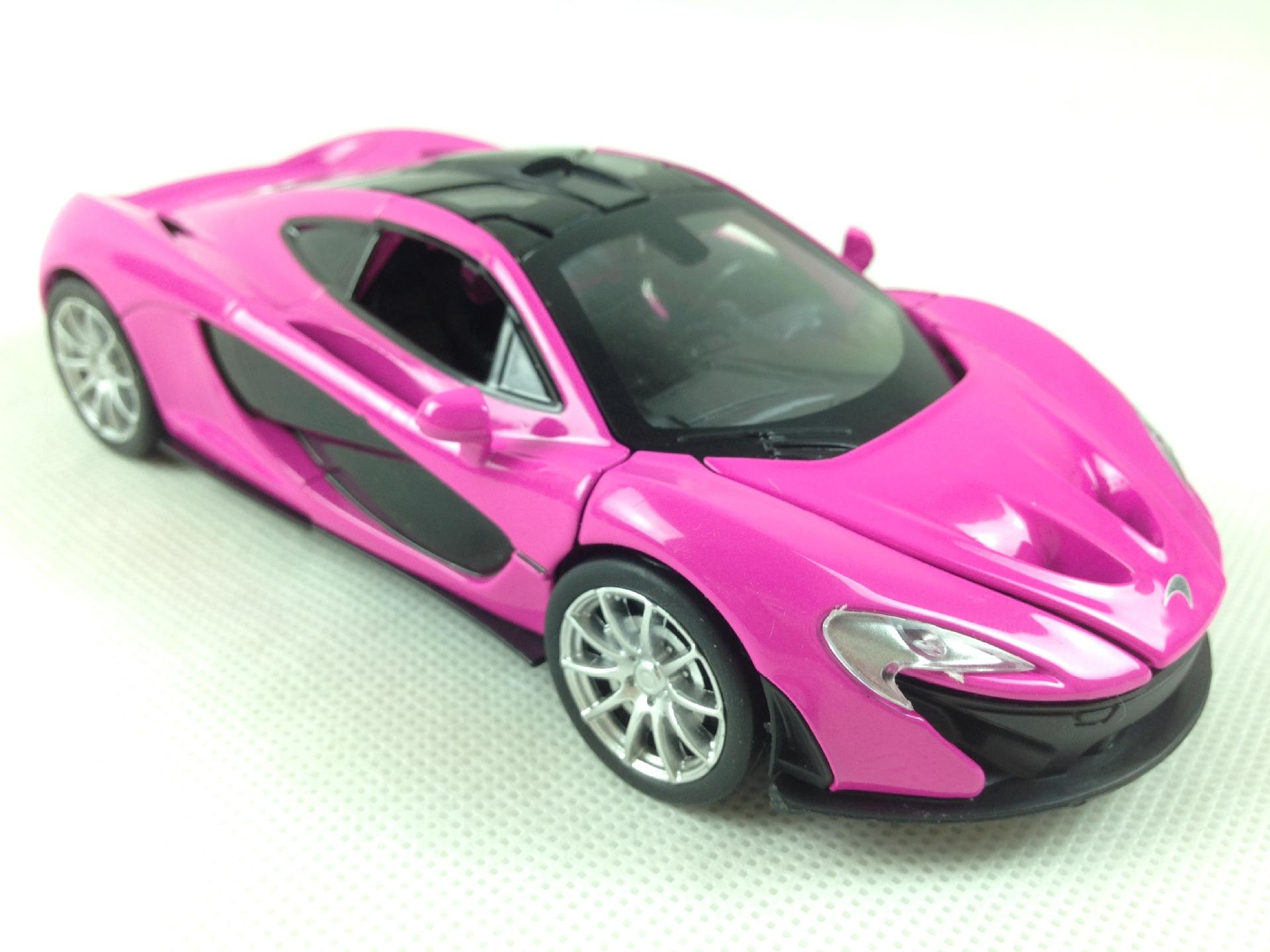 132 mclaren super car model alloy diecast car toy high quality model car with sound and light 3 colors for your choice