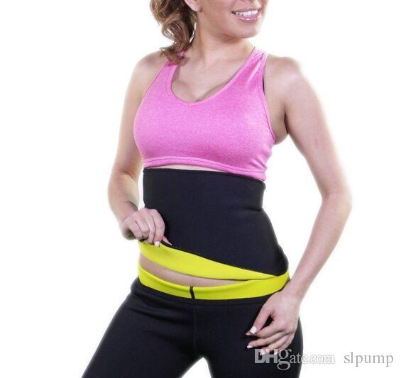 Abnehmen Taille Trainer Shaper Taille Training Gürtel Unisex Thermo Sauna Neopren Sport Yoga Korsett S-XXL Größe mit Kleinpaket