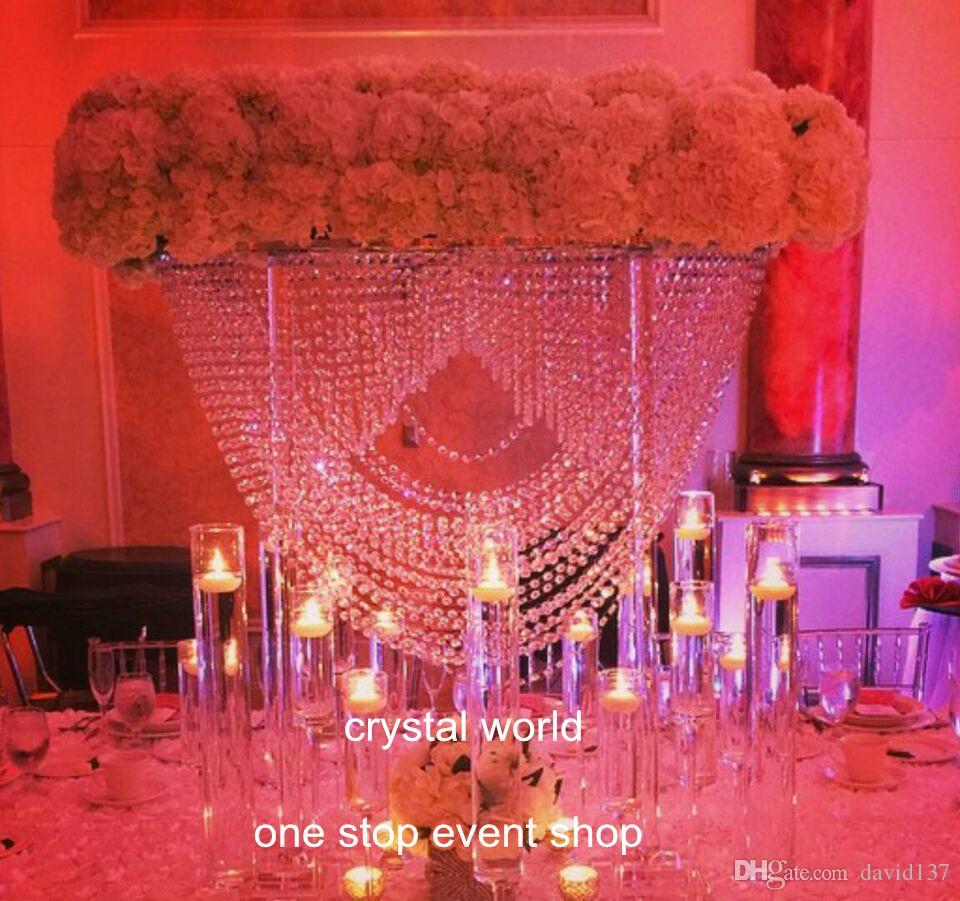 Luxury elegant large crystal chandelier wedding centerpieces luxury elegant large crystal chandelier wedding centerpieces chandelier centerpieces for weddings crystal centerpieces for wedding table hanging crystals arubaitofo Choice Image