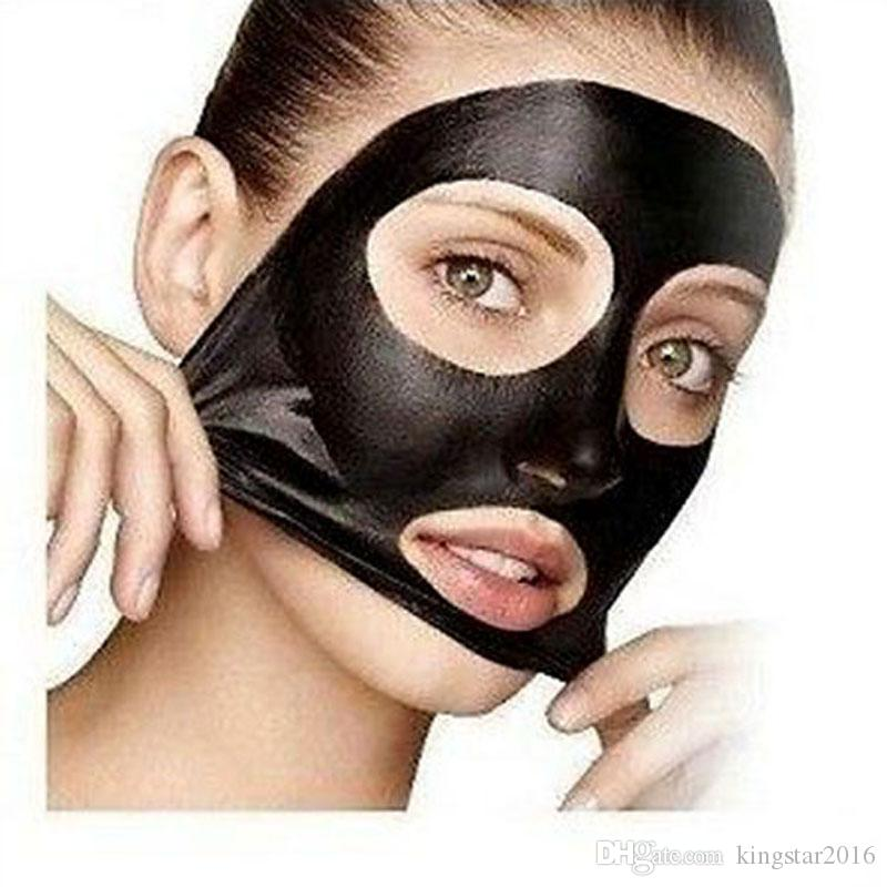 Pilaten Black Mask Tearing Style Deep Cleansing Purifying Peel Off Black Head Close Pore Face Mask Blackhead Remover Pore Strip