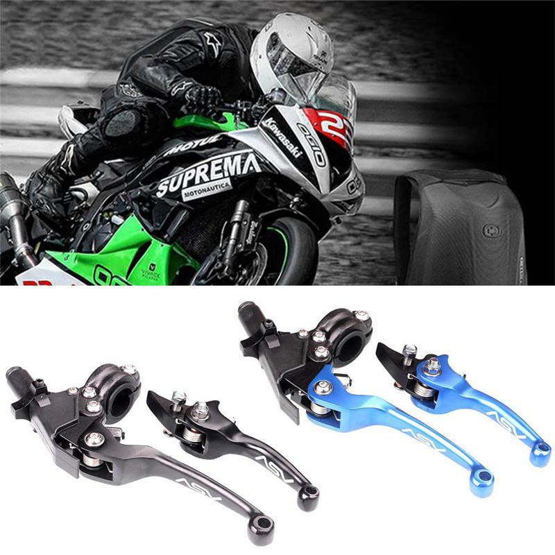CNC Aluminum ASV F3 Series 2ND Clutch Brake Folding Lever For Motocross Motorcycles Dirt Bike
