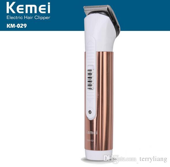 hair cutting beard trimmer electric shaving machine kemei hair clipper rechargeable or dry battery portable kid adult clipper