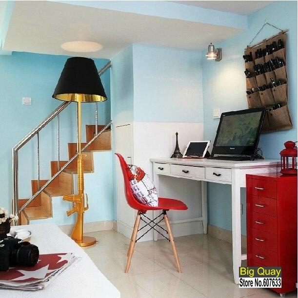 Großhandel Italien Flos Gun Stehleuchte Moderne Philippe Starck Entworfen  Lounge Gold Gun Stehleuchte Wohnzimmer Schlafzimmer Stehleuchten Ak47 Gun  ...