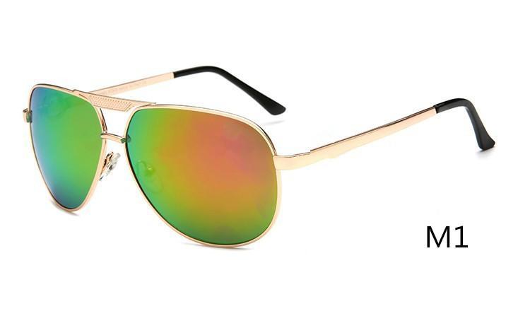 جديد أزياء المرأة النظارات الشمسية ترقية الإطار المعدني في البازلت اللون الوردي lense uv مصمم حزب حار السيدات نظارات 5001 موك = 10 قطع