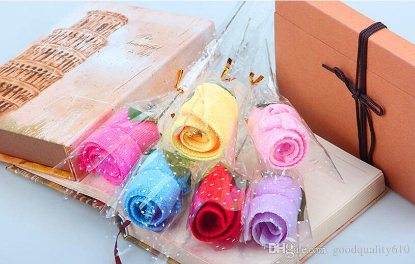 Wedding Gift Towels: 2019 Cute Rose Style Towel Cotton Creative Towels For