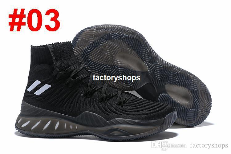 Newest Color 2017 Crazy Explosive 2017 Andrew Wiggins Basketball Shoes for High quality Mens Socks Sports Training Sneakers Size 7-12