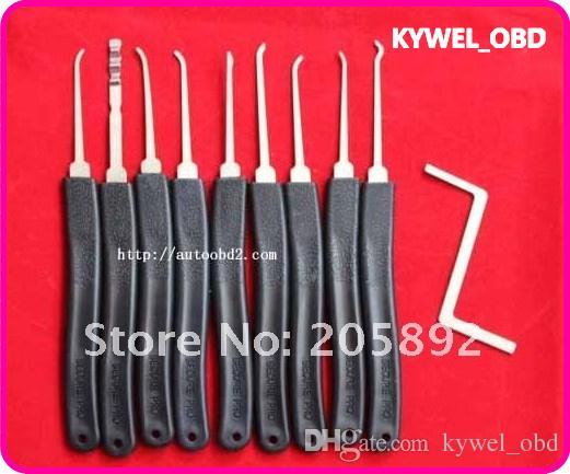 뜨거운 판매 KLOM 9 조각 선택 잠금 도구 고급 9- 조각 세트, 잠금 선택, 잠금 장치 도구 무료 배송