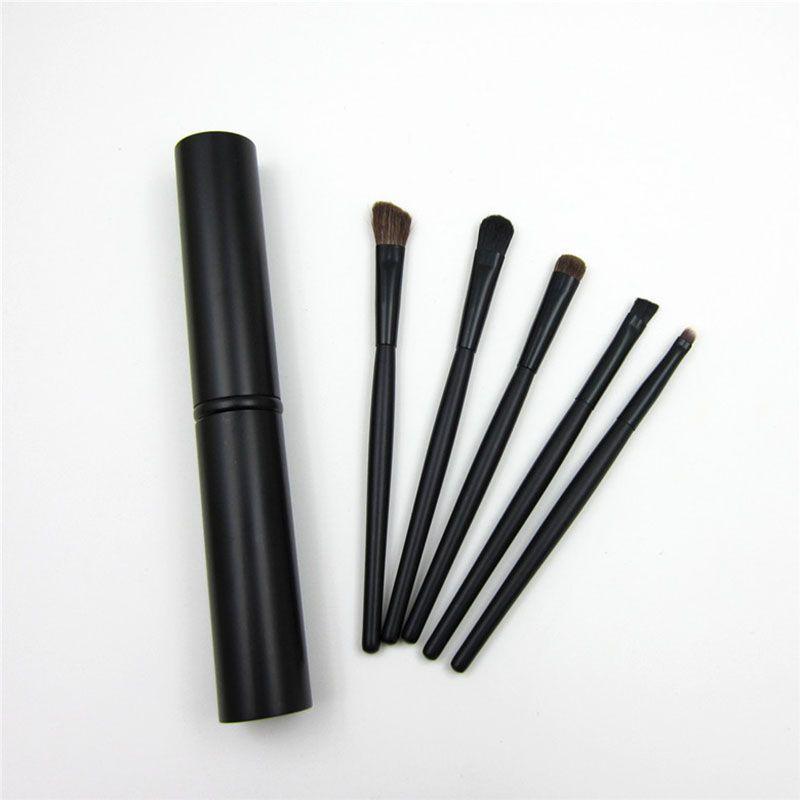 / set Professional Pony Hair Eyeshadow Brushes Set Pennelli il trucco Eye Makeup Tool Kit con tubo tondo