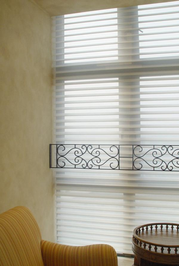 Customs Made Blinds Comfortex Sheer Horizontal Shades ShangriLa in