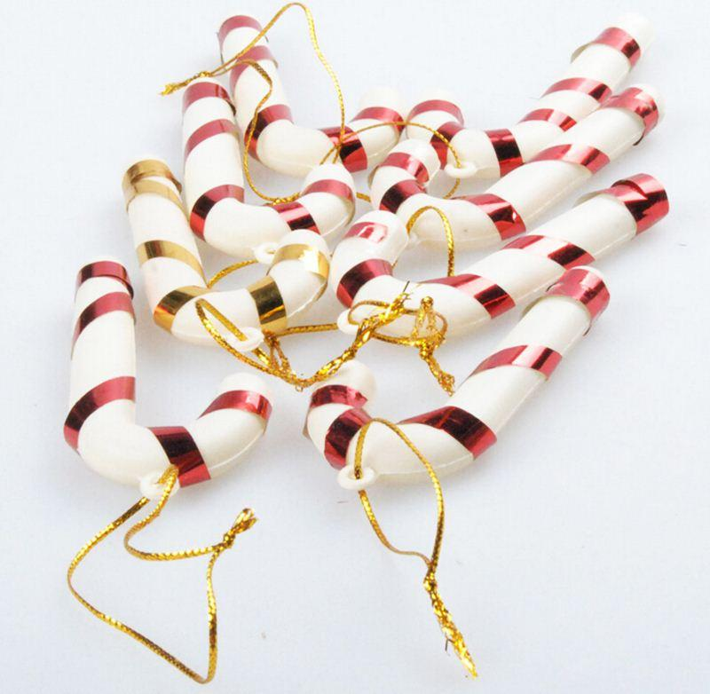 pack christmas candy cane ornaments festival party xmas tree hanging decoration hot sale christmas ornaments on sale christmas ornaments online shopping