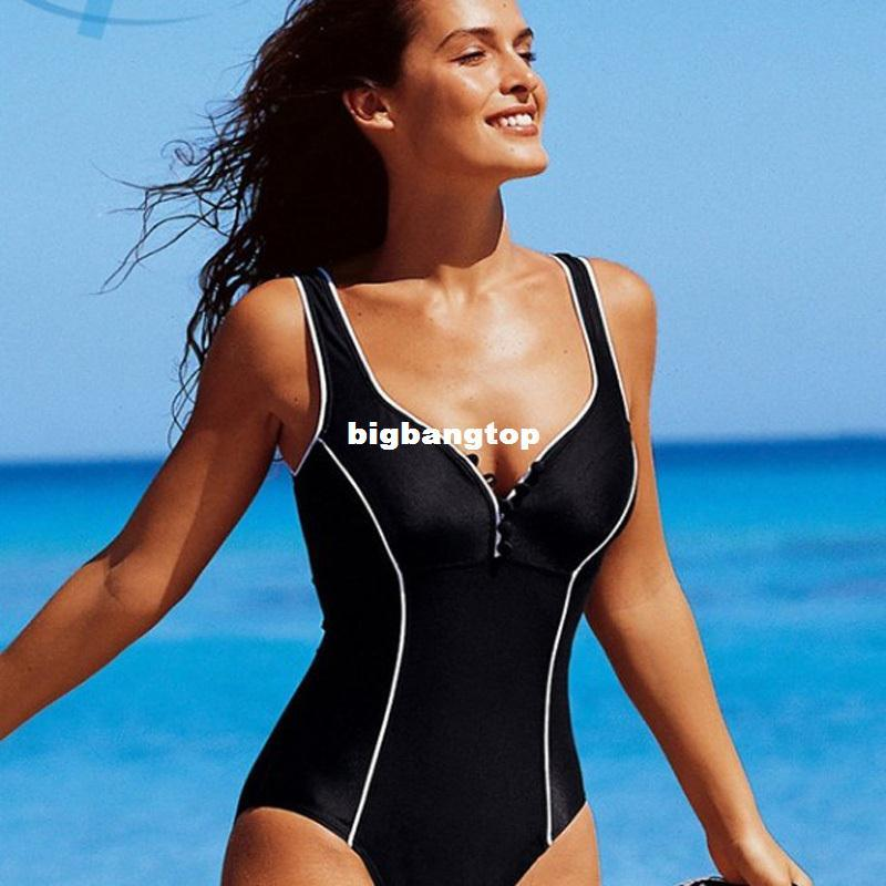 2018 1510 sexy sport swimsuit plus size swimwear women one. Black Bedroom Furniture Sets. Home Design Ideas