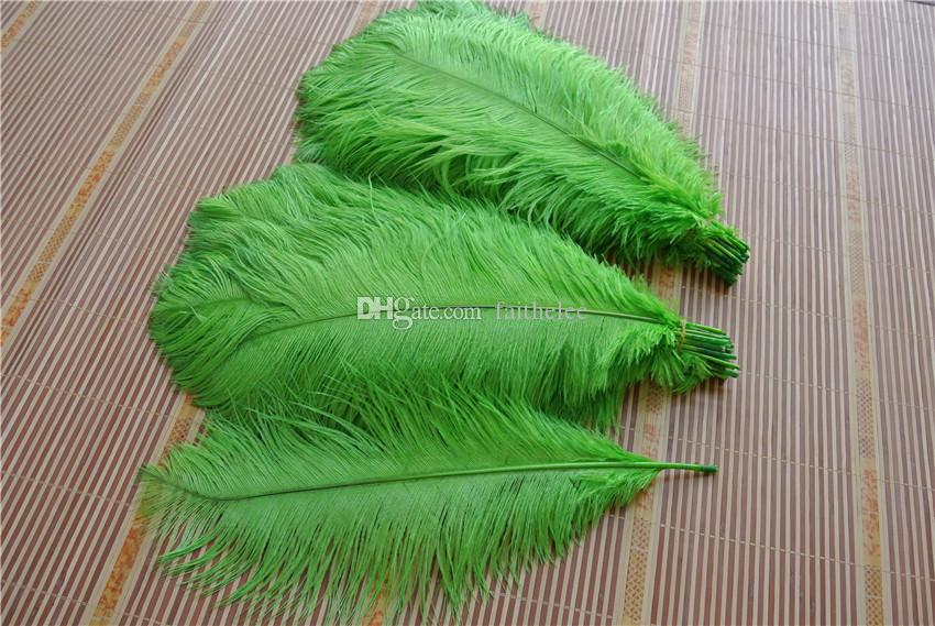 18-20inch lime green Ostrich Feather plume for wedding centerpiece decor event party decor