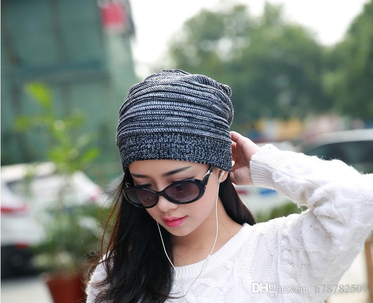 wholesale Woolen Knitted Caps Winter Warm Hats For Men&Women Korean Style Fashion Outdoor Caps Winter Beanies DHL
