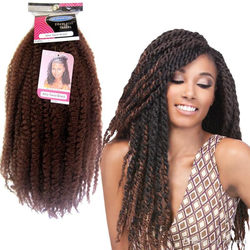 Afro Twist Braid Hair Super Quality Afro Kinky Braid Braiding 100