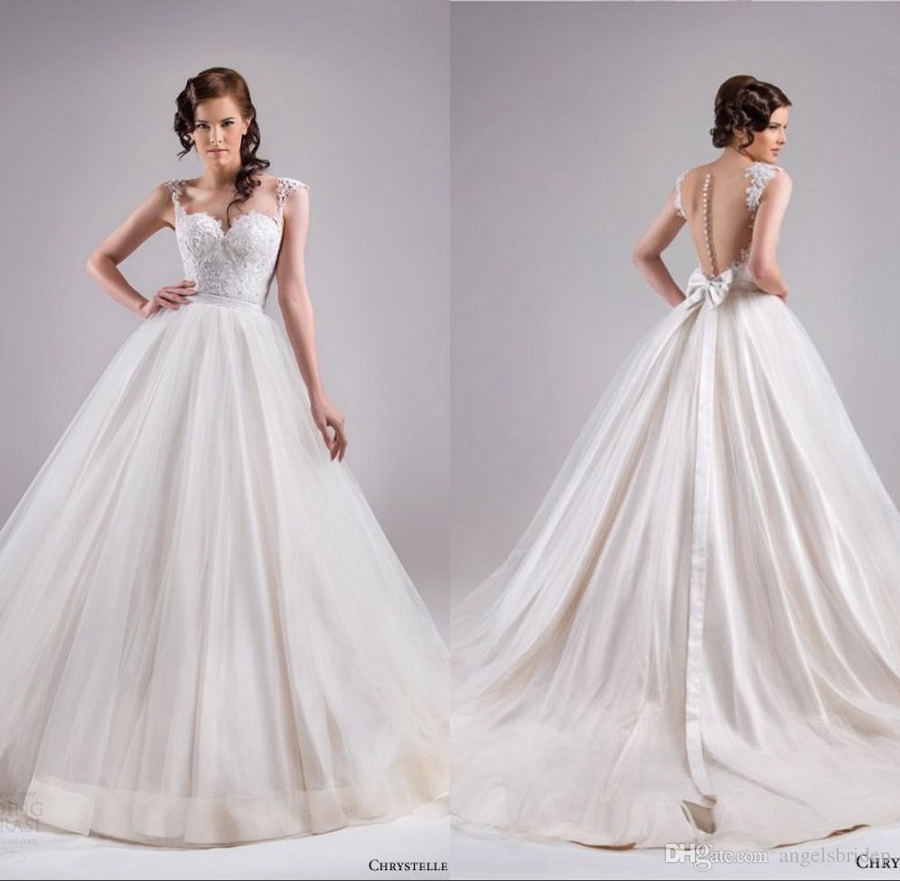Großhandel Chrystelle Atallah Frühling 2015 Brautkleider ...