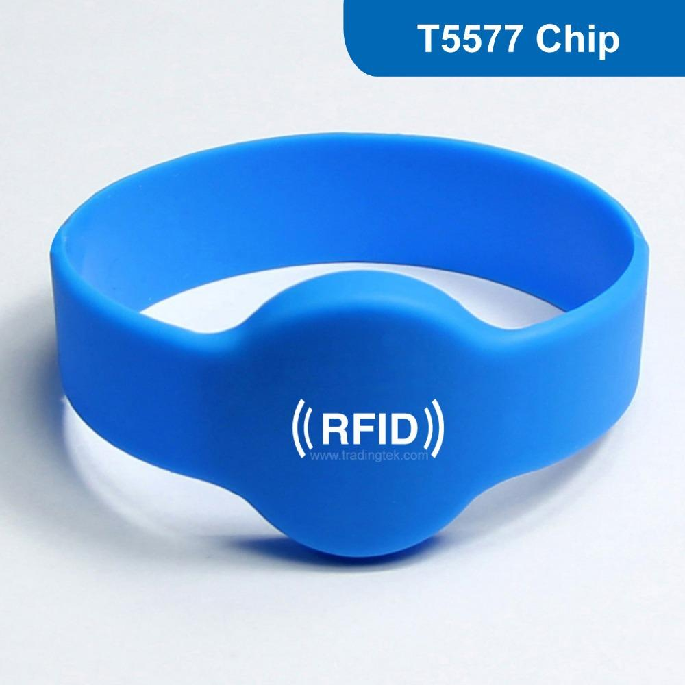 details wristbands silicone product orange bracelet rfid