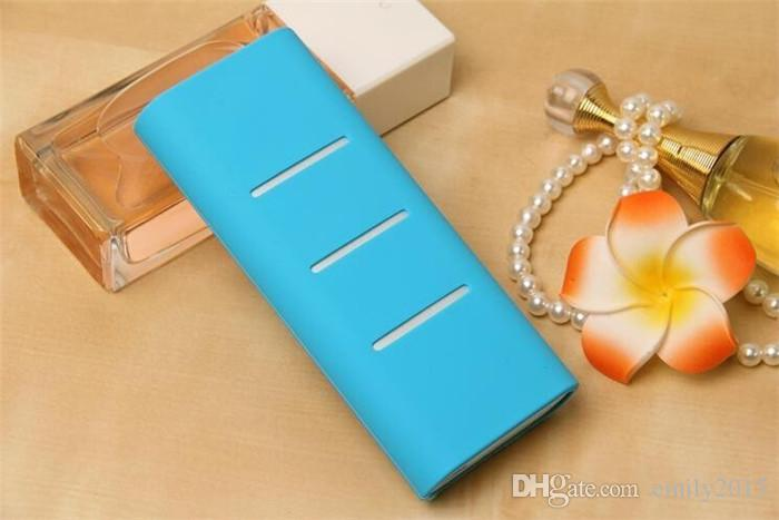 Original power bank silicone cases covers for 16000 mah xiaomi External Battery Pack charging lithium Valentine's day gifts