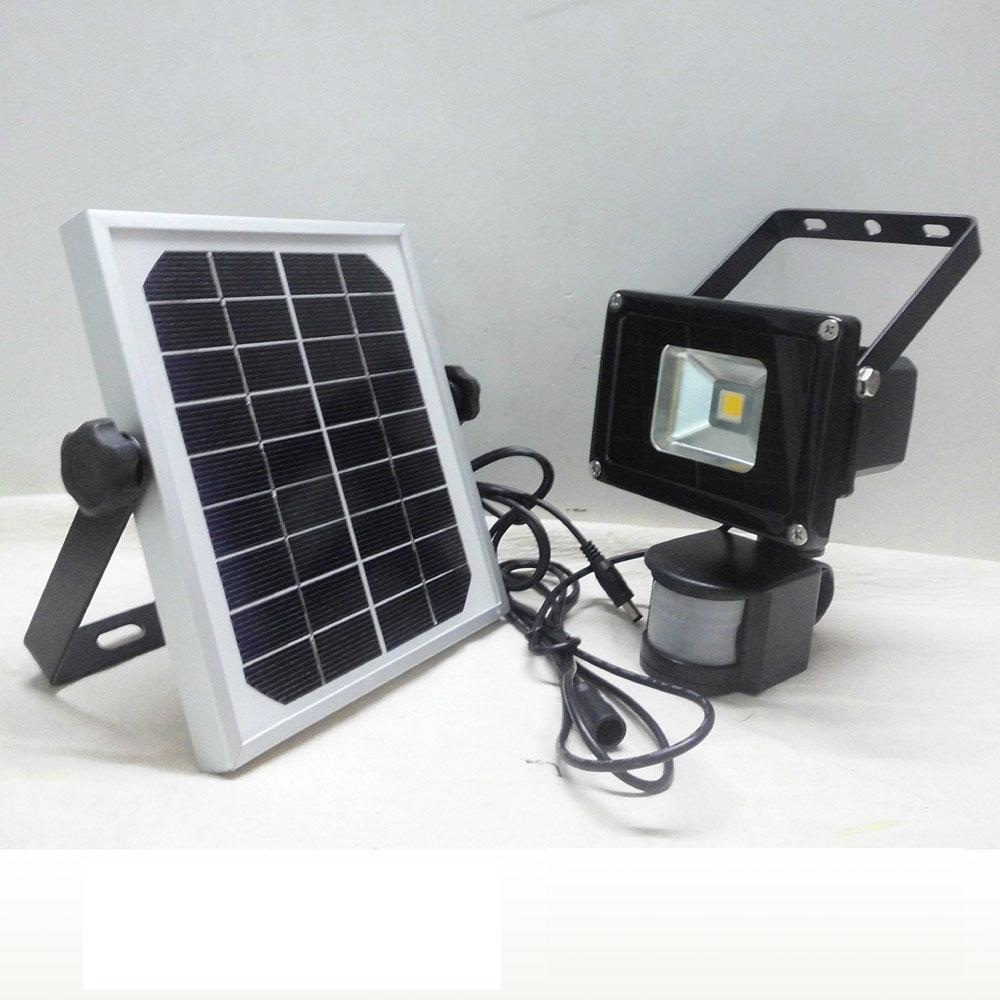 New 10w solar powered led flood light with pir motion sensor garden new 10w solar powered led flood light with pir motion sensor garden security path wall lamp outdoor led spot lighting 50w led flood light pir led floodlight workwithnaturefo