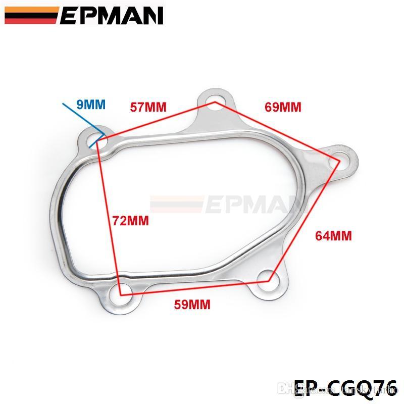 EPMAN Turbo T25 K14 Turbo Türbin Conta Ducato Usta Iveco Günlük Fiat Ducato Için 466974 Turbo Evrensel JDM EP-CGQ76